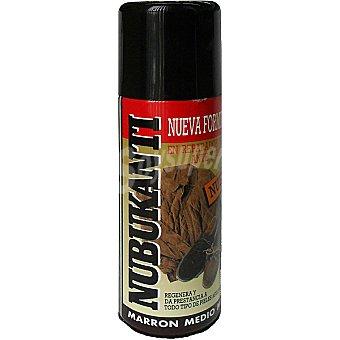 CUMBRE Limpia calzado para ante y nobuck marron medio spray 250 ml Spray 250 ml