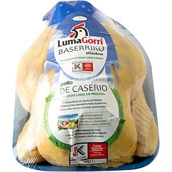LumaGorri Pollo limpio de caserio para asar Eusko Label peso aproximado unidad 14 kg Unidad 14 kg