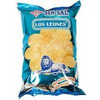 Los Leones Patata frita sin sal Bolsa 140 g