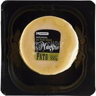 Eroski Mousse de Foie de pato Maestro 100 g