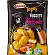 Nuggets sabor kebab 100% pechuga de pollo  envase 300 g Fripozo