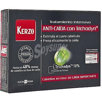 Kerzo Tratamiento intensivo anticaída con trichodyn en ampollas de caja 14 unidades 5 ml