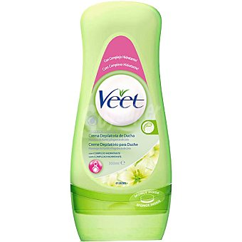 Veet Crema depilatoria para ducha piel seca Tubo 300 ml