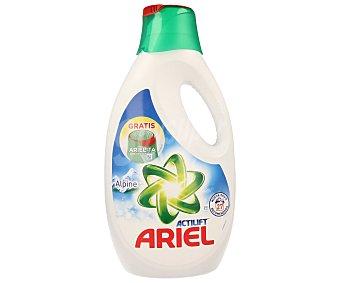 Ariel Detergente líquido para lavadora con arielita para pre-tratar 27 lavados