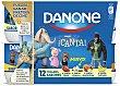 Yogur de fresa-macedonia-plátano-vainilla Pack 12x125 g Danone