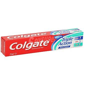Colgate Dentífrico Triple Acción Menta Original 75 ml