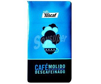 Toscaf Café molido descafeinada natural 250 Gramos