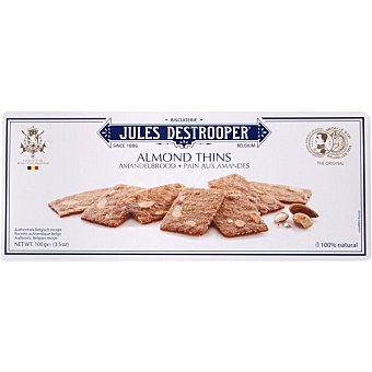 JULES DESTROOPER Biscuits de almendra Estuche 100 g