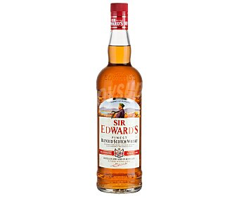 SIR EDWARDS Blended Whisky Escocés Botella de 1 Litro