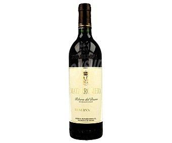 Matarromera Vino tinto reserva D.O. Ribera del Duero Botella de 75 cl