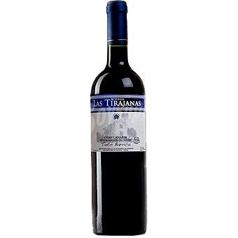 LAS TIRAJANAS Vino tinto barrica D.O. Gran Canaria botella 75 cl 75 cl