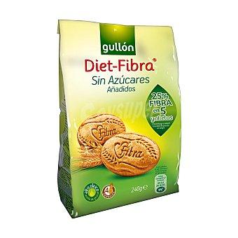 Gullón Diet - Fibra galletas sin azúcar estuche 240 grs Estuche 240 grs