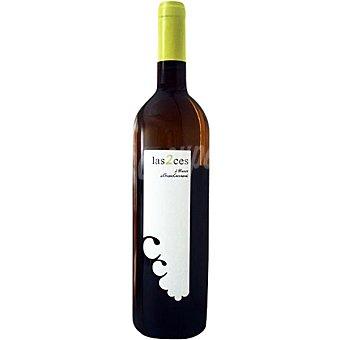 LAS 2CES Vino blanco joven D.O. Utiel Requena botella 75 cl 75 cl
