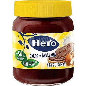 Hero Baby Crema de cacao y avellanas -50% azúcar y -27% grasas saturadas Supernanos Frasco 250 g