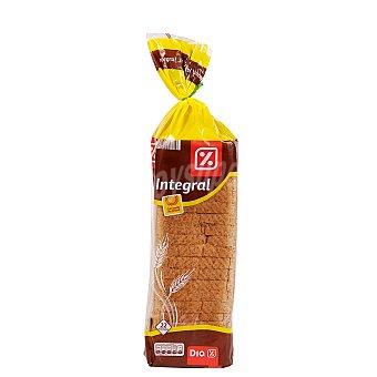 DIA pan de molde integral Bolsa 600 gr