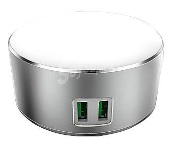 Eurobric 2000 Luz de noche con cargador rápido para dos dispositivos 2000