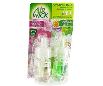 AIR WICK Symphonia Recambio Ambientador Fragancia Magnolia y Manzana 1u