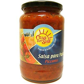 Casadelsud Salsa para pasta picante Frasco 480 g