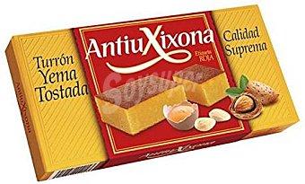 Antiu Xixona Turrón Etiqueta Roja Yema Tostada 300 g