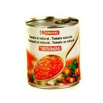Eroski 1/2box tomat.tritu.eroski  Lata 800 g