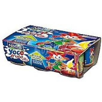 Nestlé Yogur con panache con frutas Yoco Pack 6x100 g