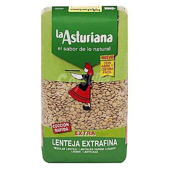 La Asturiana Lenteja extra pardina Bolsa 1 kg