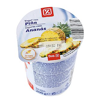 DIA Yogur con piña Envase 200 gr