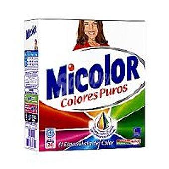 Micolor Detergente en polvo Maleta 20 cacitos