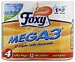 Papel higiénico 12 rollos Foxy
