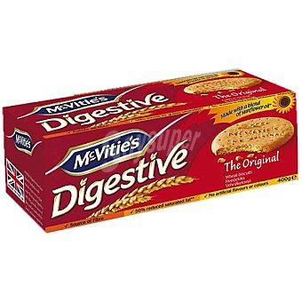 McVities Galletas de trigo Digestive Original Paquete 400 g