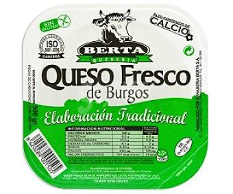 Berta Queso fresco de Burgos, alto contenido en calcio 500 Gramos