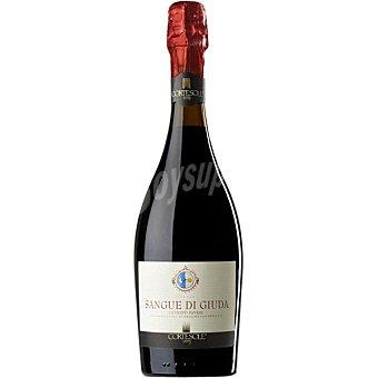 Sangue di giuda Cortesole vino tinto espumoso de Italia botella 75 cl botella 75 cl
