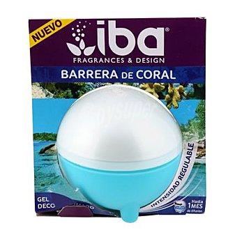 Iba Ambientador esfera de gel barrera de coral 1 ud