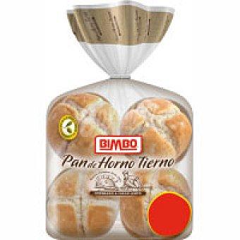 Bimbo Panecillos redondos pan de horno 6+2 unid