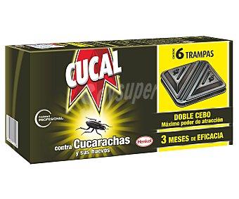 Cucal Trampa Anticucarachas 6 Unidades + 2 Gratis