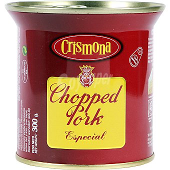Crismona Chopped pork especial Lata 300 g