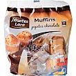 Muffins pepitas de chocolate Paquete 450 g MONTES LARA INPANASA