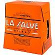 Lager Auténtica cerveza rubia de Bilbao pack 6 botellas 25 cl pack 6 botellas 25 cl La salve