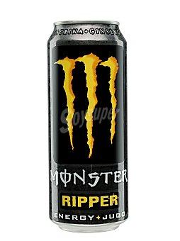 Monster Bebida energética Ripper Lata de 50 cl