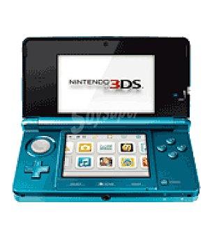 Nintendo Consola hardware azul aqua nintendo 3DS