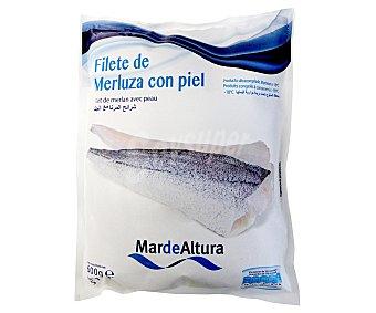 Mar de Altura Filete de merluza con piel 600 Gramos