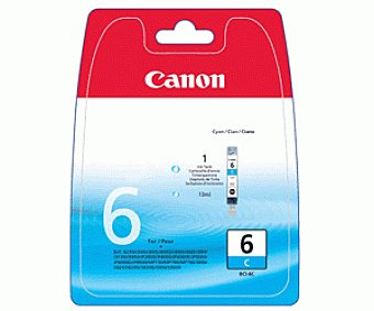 Canon Cartucho BCI-6C Cian 1u