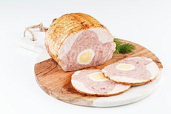 La Carloteña Pollo relleno con huevo, jamón y queso kg