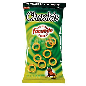 FACUNDO Chaskis de maiz bolsa 125GR