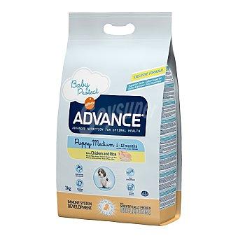 ADVANCE SIZE de AFFINITY Affinity Advance Medium Puppy pollo y arroz 3 kg + Regalo snack