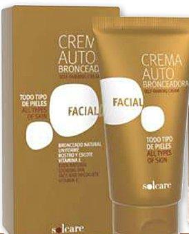 Solcare Autobronceador crema facial Tubo 75 cc