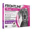 Pipetas Tri-Act solución spot-on para perros 20-40 kg Caja 3 u  Frontline