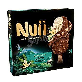 Nuii Bombón almendrado con vainilla de Java 3 x 90 ml