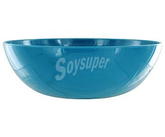TABERSEO Ensaladera de 25.4 centímetros y fabricada en melamina de color azul Ensaladera Melamina Az 1