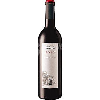 QUINTA EL REFUGIO Vino tinto joven D.O. Toro elaborado para grupo El Corte Inglés Botella 75 cl